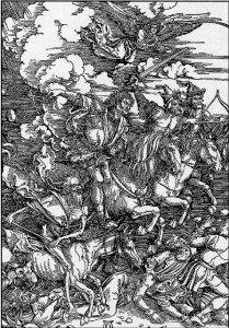 (21) Apocalisse: Il Regno dei Mille Anni, Gog e Magog dans Apocalisse It 13-durerquattrocavalieri-209x300