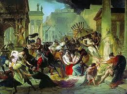 (20) Apocalypse, La chute de Rome/Babylone (La grande prostituée) dans religion imagesCAIKFSR7SaccodiRo455