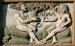 Adam, Eve et le serpent dans religion adameve